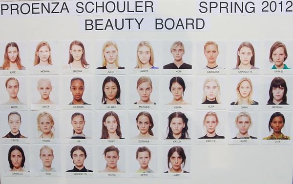 Proenza Schouler NYFW SS 2012 Backstage