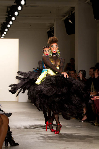 The Blonds Spring 2011 Collection Runway